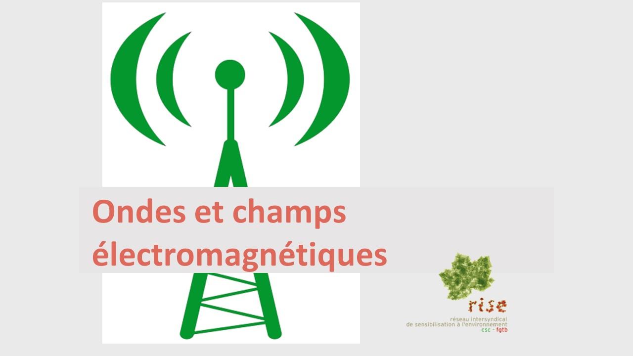 Rise articles ondes lectromagn tiques travailleurs mieux prot g s - Onde electromagnetique explication ...